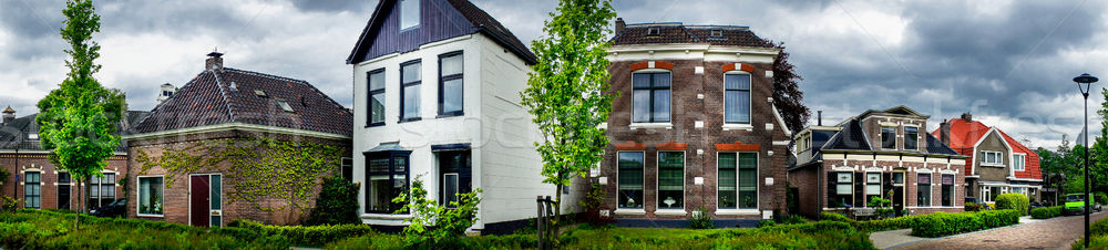 Beautiful houses in the Netherlands Stock photo © lypnyk2