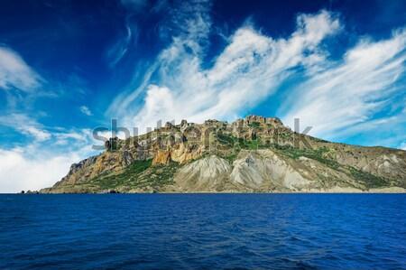 Nice мнение гор замечательный Панорама пород Сток-фото © lypnyk2