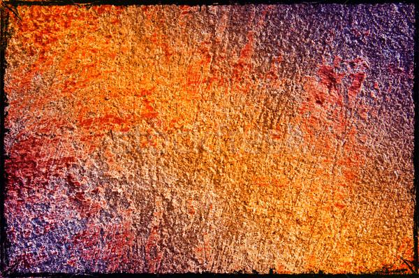 Abandoned old wall. Stock photo © lypnyk2