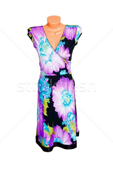 Splendid  dress on a white. Stock photo © lypnyk2