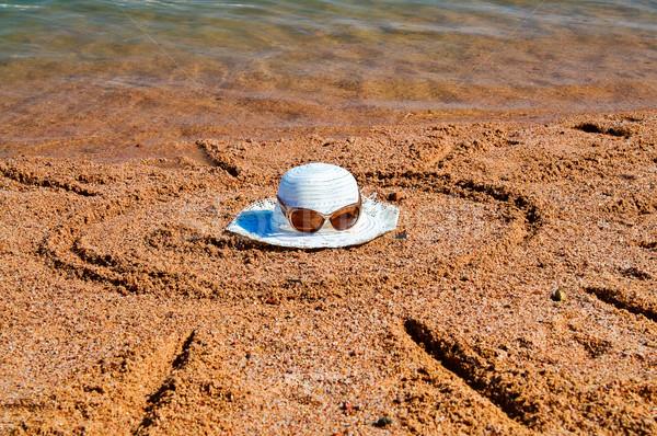 View attività resort sole spiaggia di sabbia acqua Foto d'archivio © lypnyk2