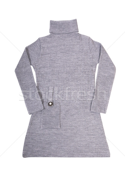 Fashionable long tunic on a white. Stock photo © lypnyk2