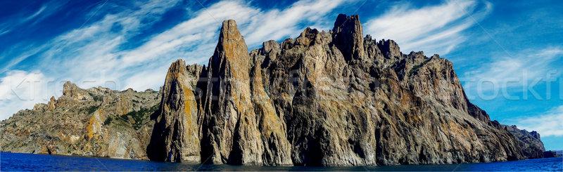 Karadag mountain in Eastern Crimea. Stock photo © lypnyk2