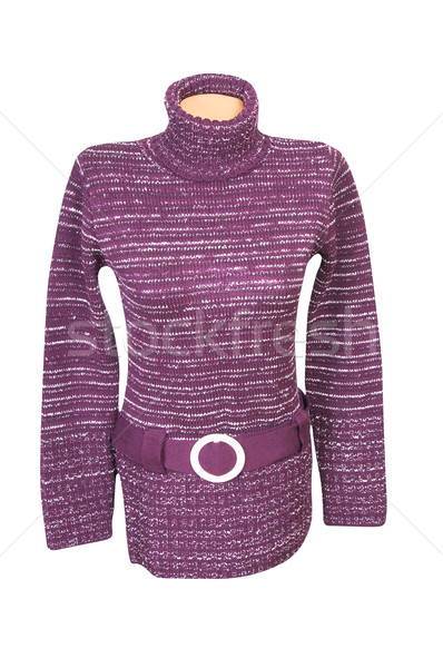 Stylish violet tunic on a white.. Stock photo © lypnyk2