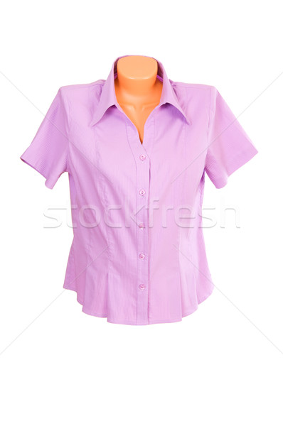 Elegant,stylish shirt on a white. Stock photo © lypnyk2