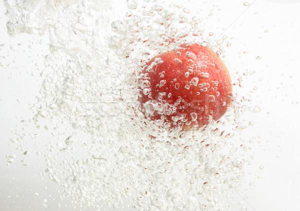 だけ リンゴ 清浄水 フルーツ 背景 スペース ストックフォト © lypnyk2