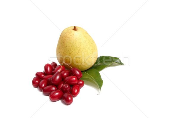 Ripe,fresh  fruits on a white. Stock photo © lypnyk2