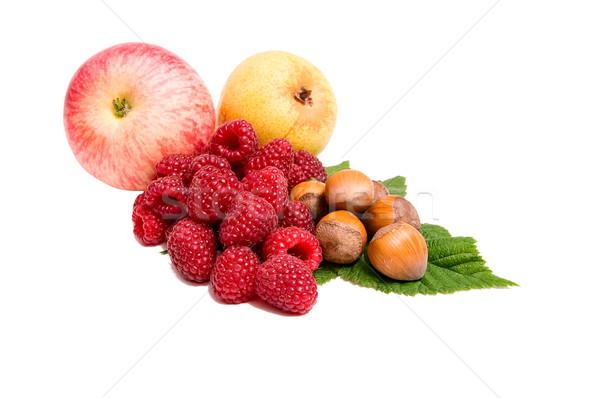 свежие осень плодов белый вкусный зрелый Сток-фото © lypnyk2