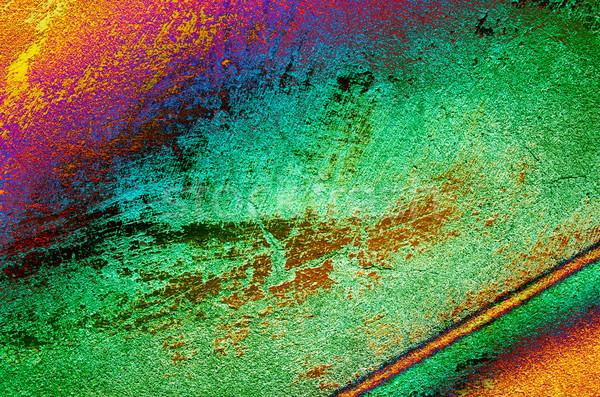 Oude vintage muur lijnen prachtig grunge Stockfoto © lypnyk2