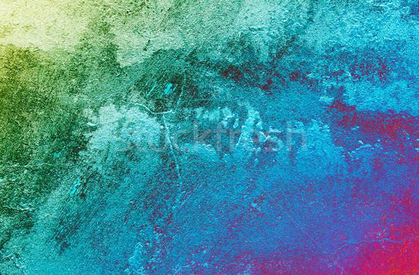 Stucco grungy wall texture. Stock photo © lypnyk2