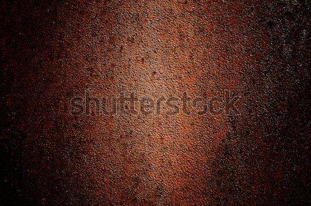 Verouderd muur verlaten metalen bruin zoals Stockfoto © lypnyk2