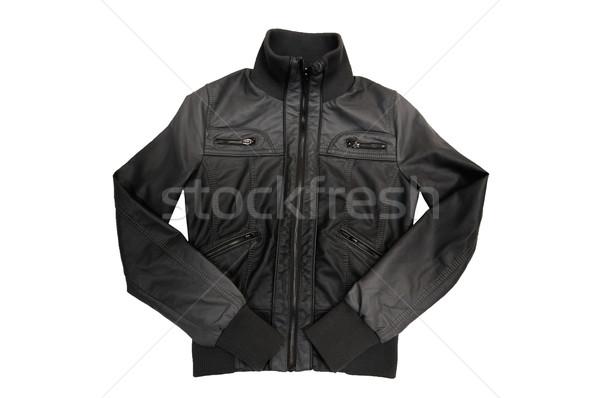 Nice  gray jacket. Stock photo © lypnyk2