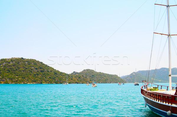 Prachtig water natuur oceaan reizen Stockfoto © lypnyk2