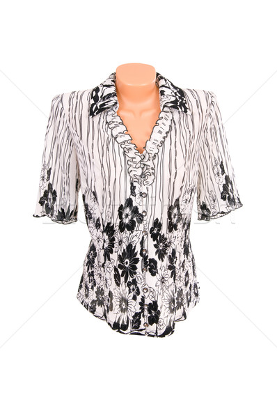 Modern blouse on a white. Stock photo © lypnyk2