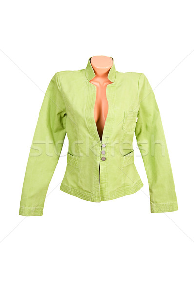 Classy,stylish jacket on a white. Stock photo © lypnyk2