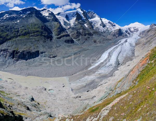 Glacier on Grossglockner. Austria. Panorama Stock photo © macsim