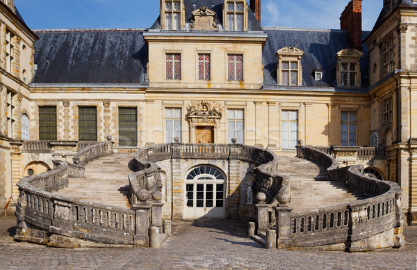 Chateau de Fontainebleau, Paris Stock photo © macsim