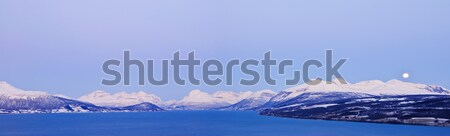 Winter's Tale. Panorama. Norway. Stock photo © macsim