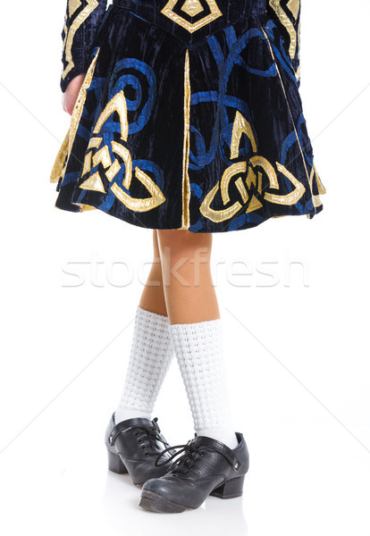 Pair of irish dancing shoes Stock photo © macsim