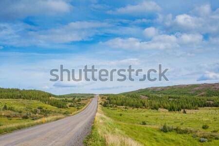 Tájkép hegy szín horizont gyönyörű vezetés Stock fotó © macsim