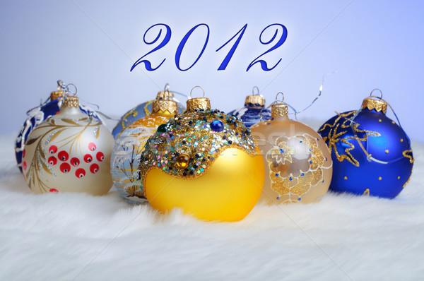 Christmas geschenken kleurrijk toekomst Stockfoto © macsim