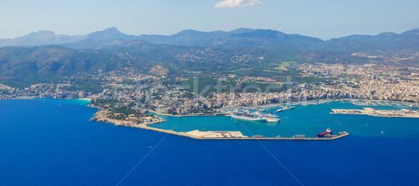 Bird's-eye view on the island Mallorca Stock photo © macsim