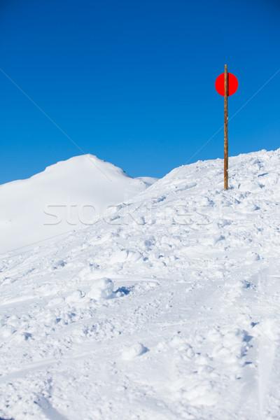 Stock fotó: Hó · sí · hódeszka · por · jég · tél