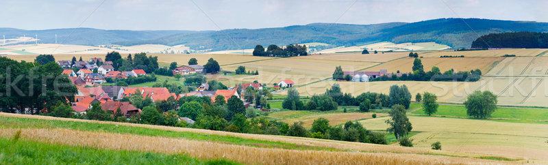 German Village Stock photo © macsim