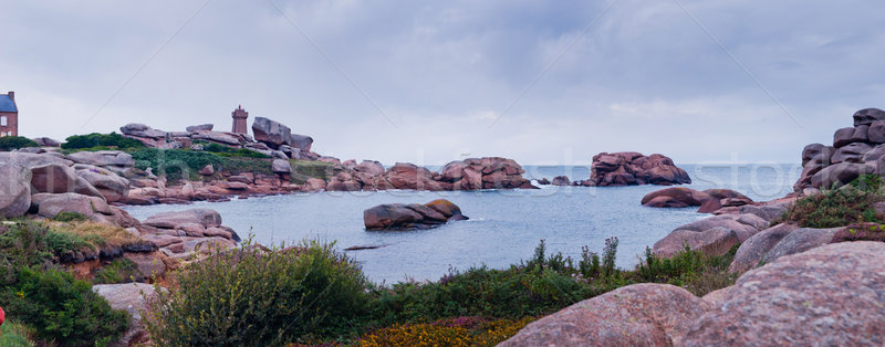 Panorama Cote De Granite Rose Stock photo © macsim