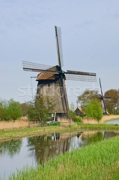 風 ミル 垂直 表示 水 空 ストックフォト © macsim