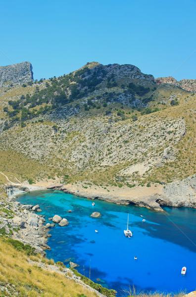 Kust majorca eilanden verticaal berg Stockfoto © macsim