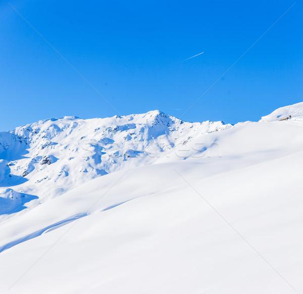 Alpine montagnes neige hiver nature montagne Photo stock © macsim