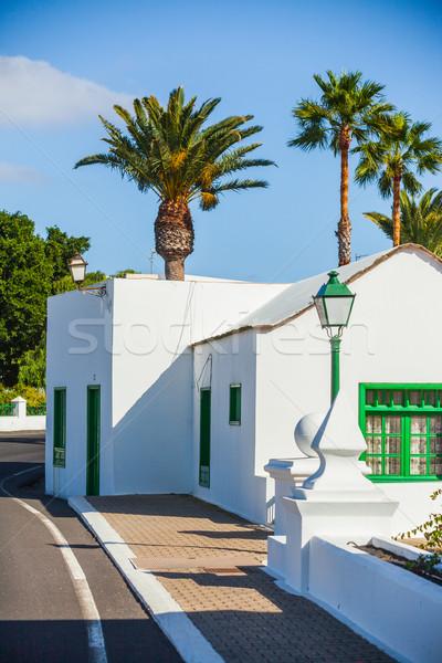 Zomer typisch villa Spanje Stockfoto © macsim