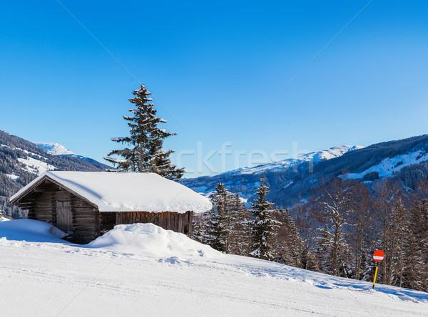 Alpine scenery Stock photo © macsim