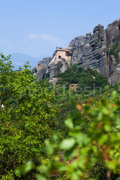 Griekenland verticaal hemel natuur landschap Stockfoto © macsim