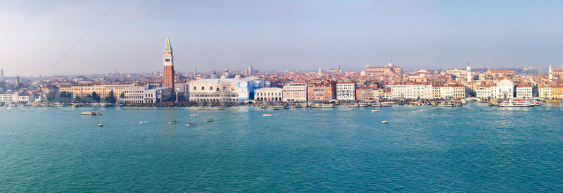 Venice - travel romantic place. Panorama Stock photo © macsim