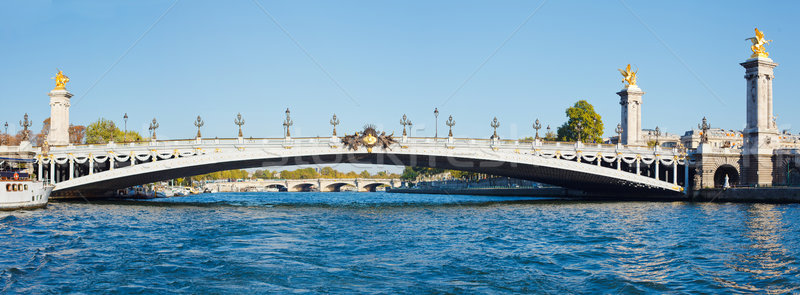 Alexander III Bridge Stock photo © macsim