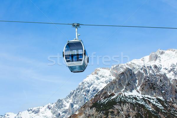 Auto sport berg reizen leuk kabel Stockfoto © macsim