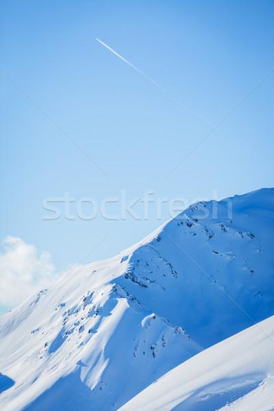 高山 山 雪 冬 自然 山 ストックフォト © macsim
