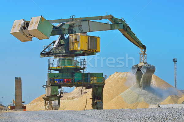 Heavy excavator loader  Stock photo © mady70