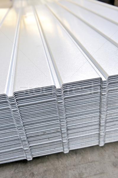 wave corrugated steel sheet Stock photo © mady70