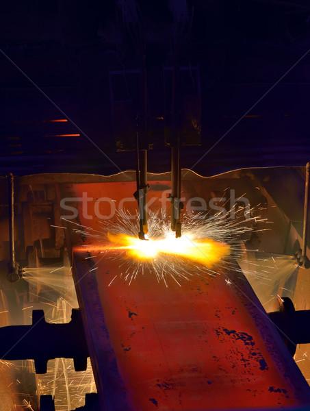 metal cutting  Stock photo © mady70