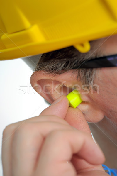 protective ear plugs Stock photo © mady70