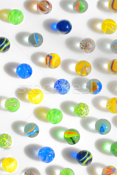 colorful glass marbles  Stock photo © mady70