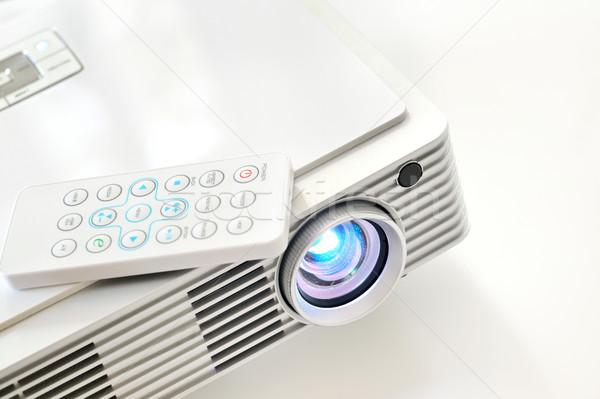 Proiettore business ufficio luce tecnologia conferenza Foto d'archivio © mady70