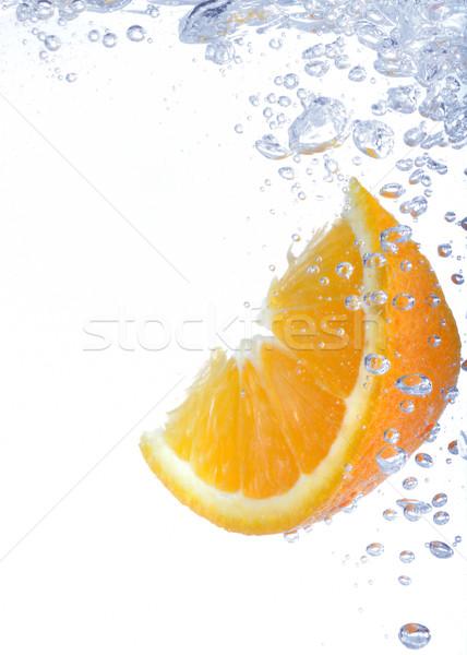 lemon slice in water Stock photo © mady70
