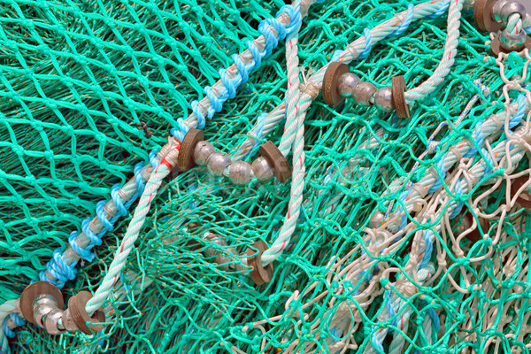 Stock photo: Rope and Netting