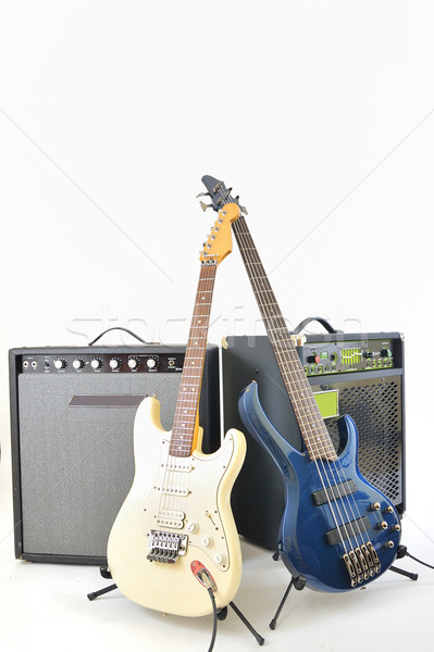 guitars and amplifiers Stock photo © mady70