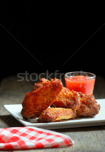 Fried Chicken Wings  Stock photo © mady70