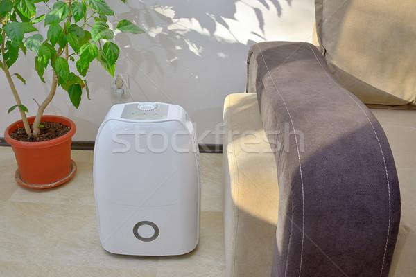 Portátil água ar dentro sala de estar tecnologia Foto stock © mady70